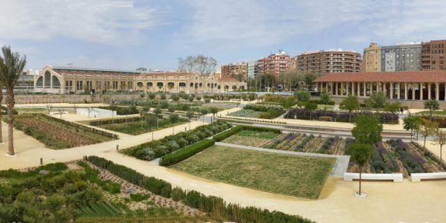 Conferencia de Mary Bowman sobre El Parque Central de Valencia